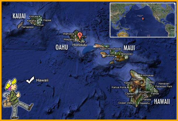 carte hawaii